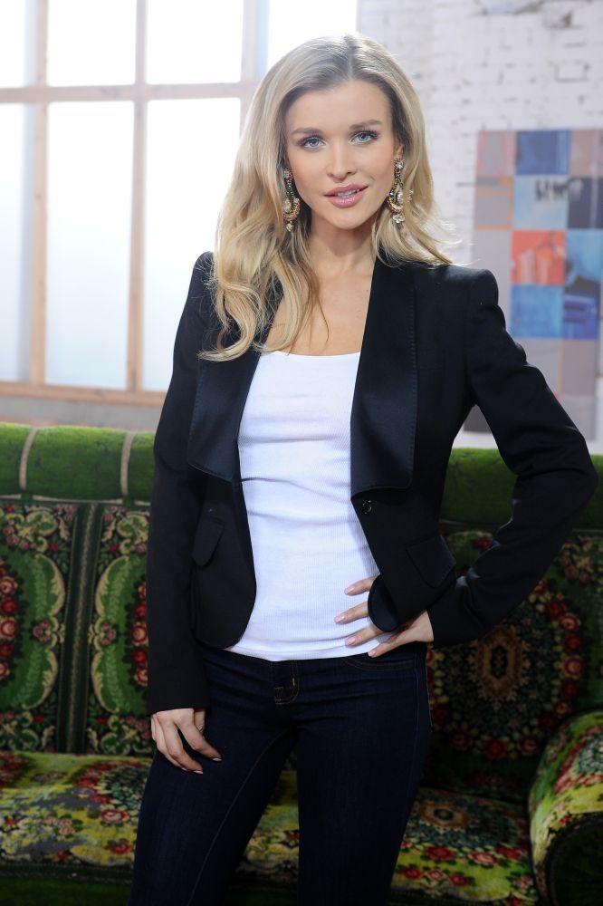 """Joanna Krupa w programie """"Najsztub słucha"""""""